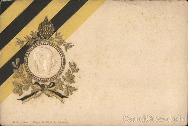 Embossed Kaiser Wilhelm I