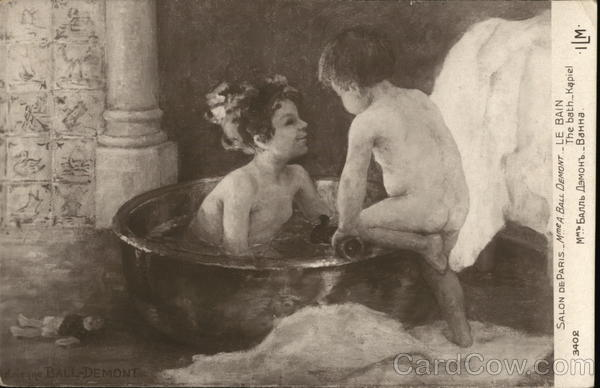 The Bath - Children in Bath Basin