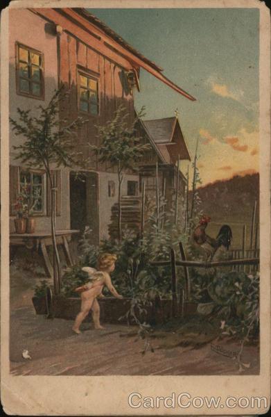 Cupid in Garden