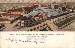 View Of Workshops of Soc. An. Factory Automobile and Cycles Edoardo Blanchi