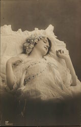 Bride  Resting Peacefully