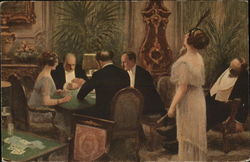 Couples Playing Cards