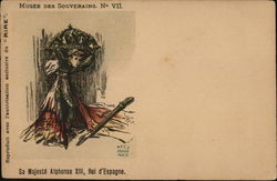 Musee Des Souverains #7 King Alphonse XIII of Spain