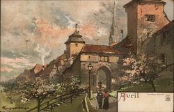 April Scene
