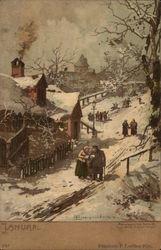 January Winter Scene