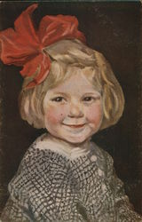 "Young Girl Portrait ""Small Coquette"""
