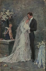 Wedding Portrait of Couple