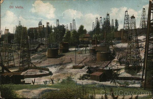 Oil Wells California