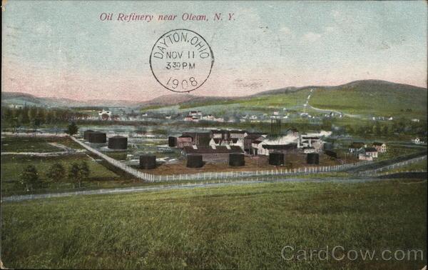 Oil Refinery Olean New York