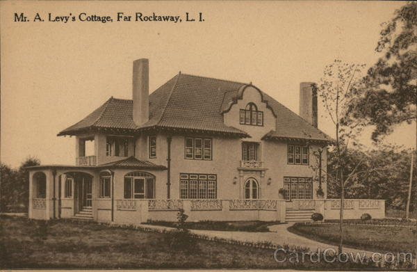 Mr. A. Levy's Cottage, Far Rockaway Long Island New York