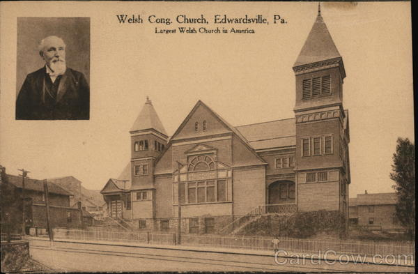 Welsh Cong. Church Edwardsville Pennsylvania