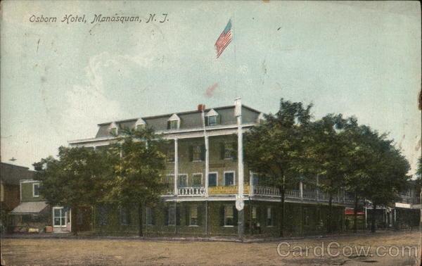 Osborn Hotel Manasquan New Jersey