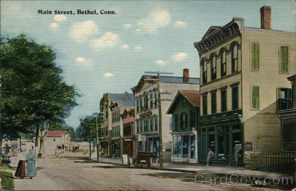 Main Street Bethel Connecticut