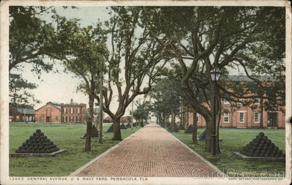 Central Avenue, U.S. Navy Yard Pensacola Florida