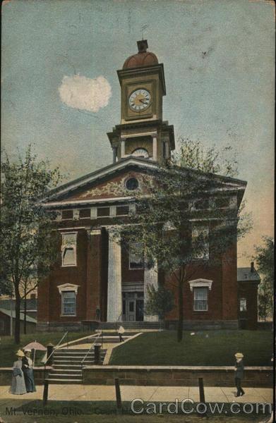 Court House Mount Vernon Ohio