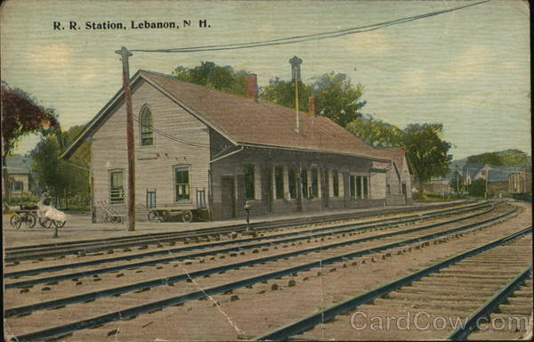 Railroad Station Lebanon New Hampshire