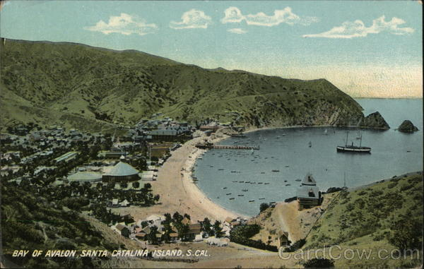 Bay of Avalon Santa Catalina Island California