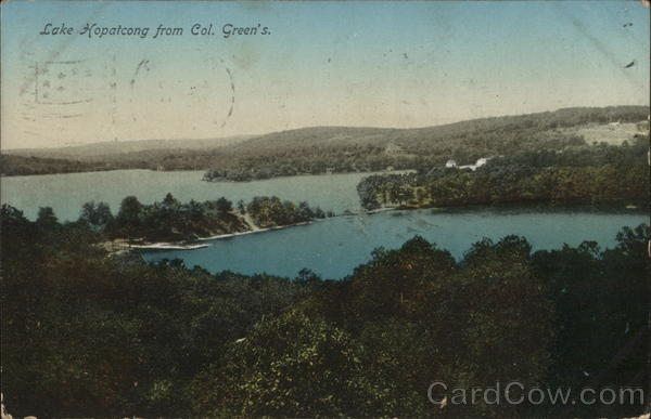 Lake Hopatcong from Col. Green's New Jersey