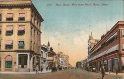 Main Street, West from Ninth