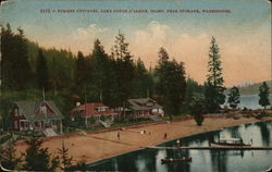 Summer Cottaages, Lake Coeur D'Alene, Idaho