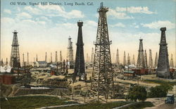 Oil Wells, Signal Hill District