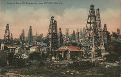 Scene of Early Oil Excitement Near Titusville
