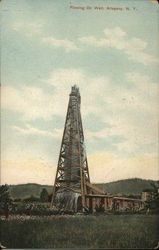 Flowing Oil Well