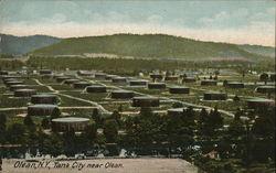 Tank City near Olean