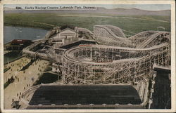 Derby Racing Coaster, Lakeside Park