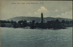 Crown Point Light, Lake Champlain