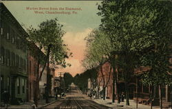 Market Street from the Diamond, West