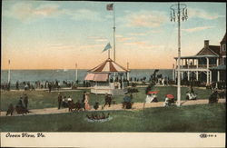 Ocean View, Va Postcard