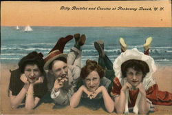 Billy Bashful and Cousins at Rockaway Beach, NY