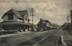 West Side Ave. Station of the Central R.R. of N.J.