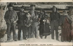 Copper River Natives Postcard