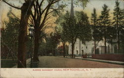 Blessed Sacrament Church Postcard