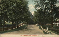 Bay View Avenue Postcard