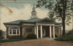 Gunn Memorial Library Postcard