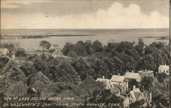 View of Long Island Sound from Dr. Wadsworth's Sanitarium