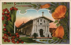 Merry Christmas from California - Mission Dolores