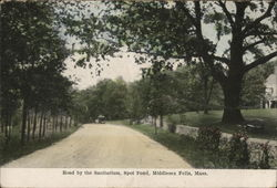 Road by the Sanitarium, Spot Pond, Middlesex Fells