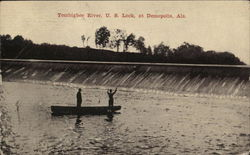 Tombigbee River, U.S. Lock