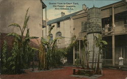 Court Yard, Old French Quarters