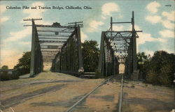 Columbus Pike and Traction Bridges
