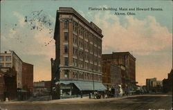 Flatiron Building, Main and Howard Streets