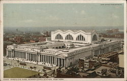 Bird's Eye View of Pennsylvania Station