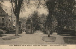 Field Memorial Gate, Mount Holyoke College