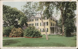 Home of James Russell Lowell