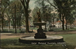Carter Memorial Fountain