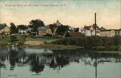 Mascoma RIver and Mechanic Street